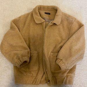 Teddy sweater/ jacket